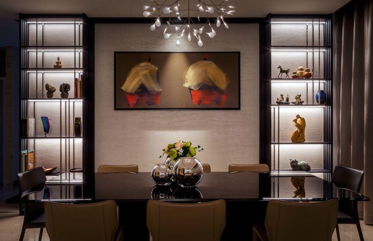 Bishopgate Residences Summerhaus D'zign Modern dining room
