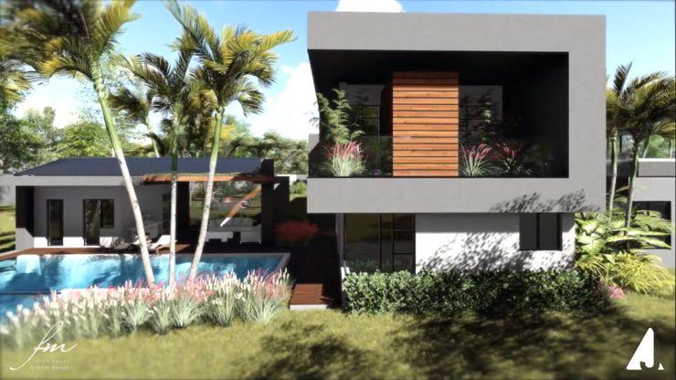 Zambian Luxury residence FRANCOIS MARAIS ARCHITECTS Minimalist house