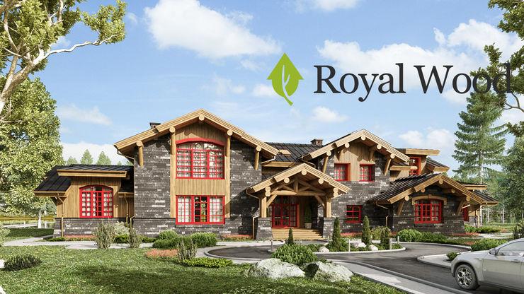 Роял Вуд Wooden houses Wood