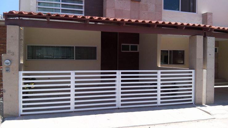 ENGO MANUFACTURAS METALICAS Minimalist house Iron/Steel White