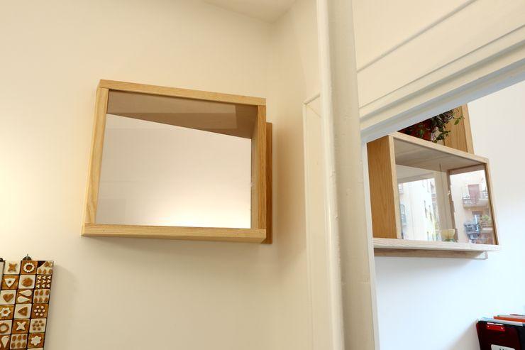 """Ingresso - """"finestre"""" interne Daniele Arcomano Ingresso, Corridoio & Scale in stile moderno"""