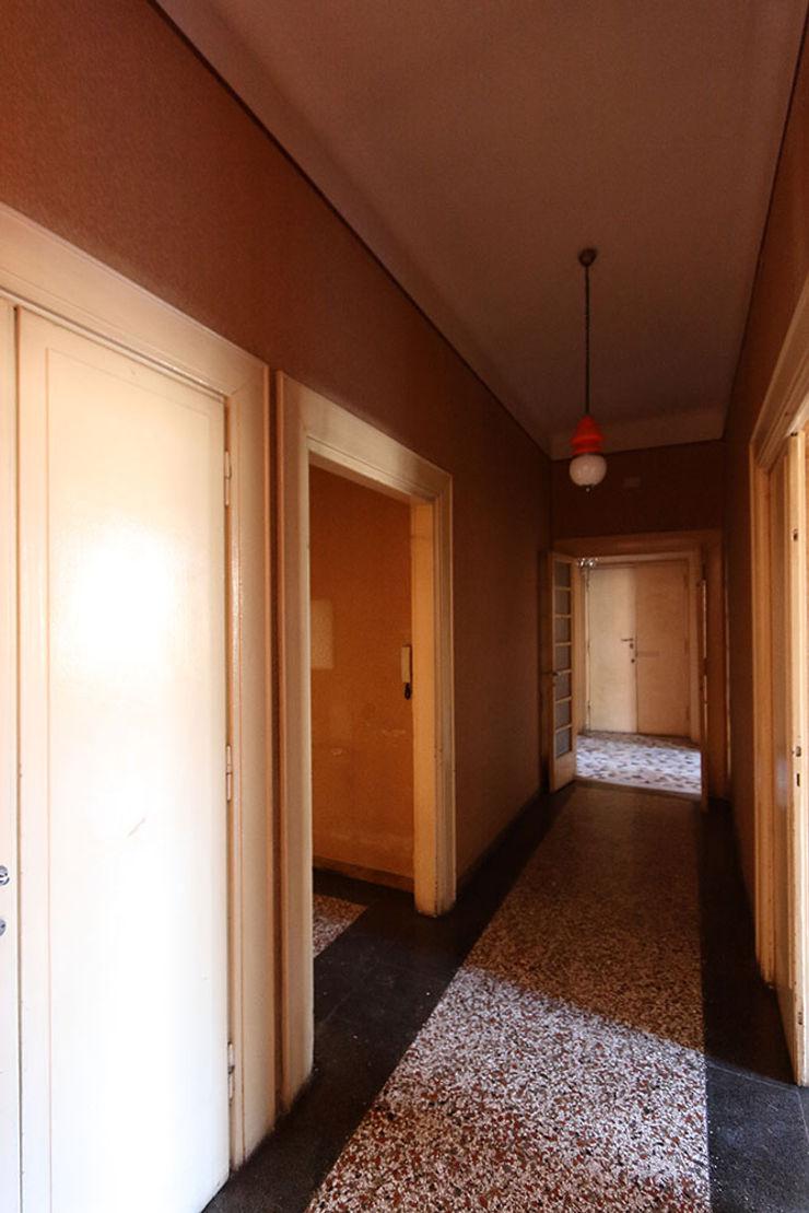 Foto ante operam corridoio verso ingresso Daniele Arcomano