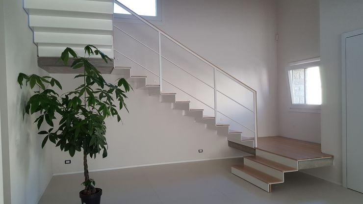 TuscanBuilding - Studio tecnico di progettazione Stairs Iron/Steel Wood effect