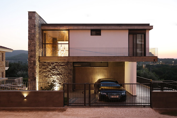Özcan Canpolat Evi Mert Uslu Mimarlık İnşaat Ticaret Limited Şirketi Villa