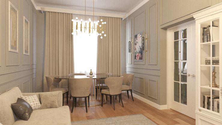 DESIGN GRUA Living room MDF Beige