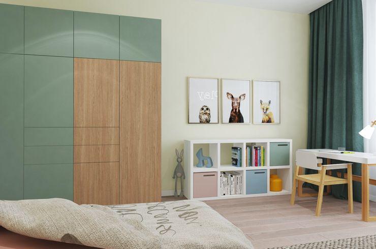Студия дизайна интерьера квартир в Киеве belik.ua Дитяча кімната
