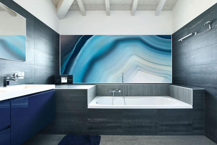 GARGANTUA Decorative Panels Tecnografica Modern Walls and Floors Blue