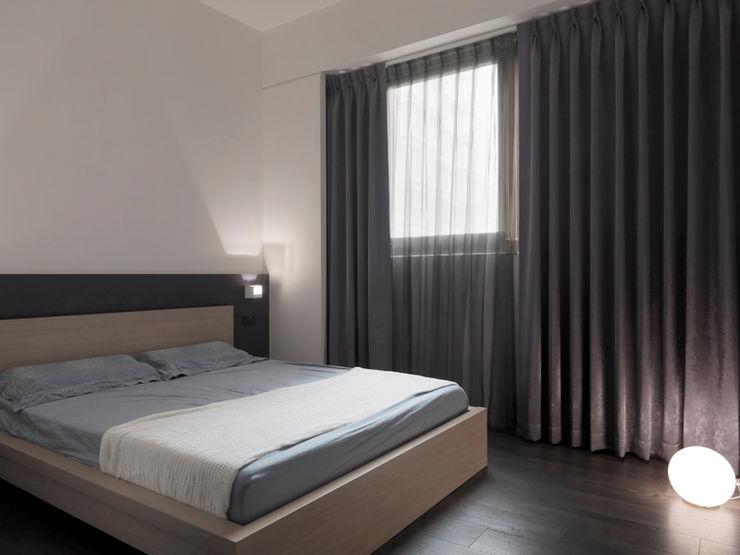 形構設計 Morpho-Design غرفة نوم