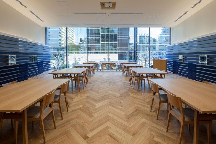 KITZ.CO.LTD Office buildings Wood Wood effect