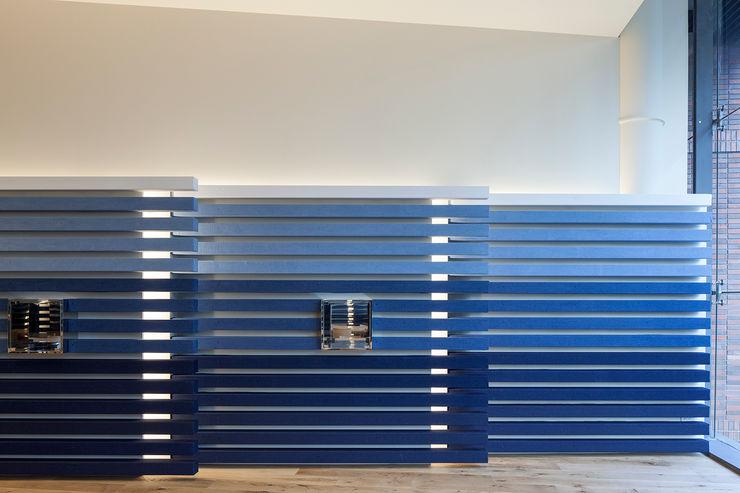 KITZ.CO.LTD Office buildings Blue