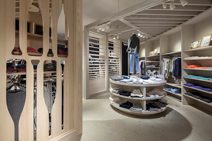 KITZ.CO.LTD Commercial Spaces Wood White