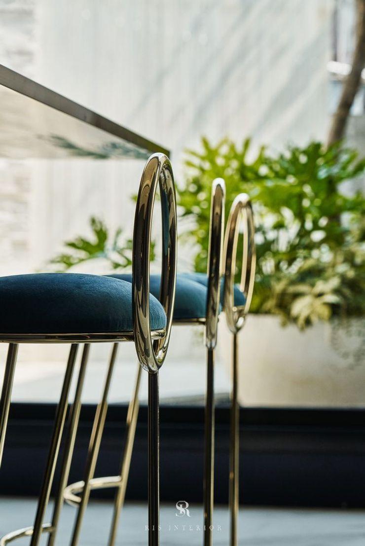 生生創研 XOR Creative Research 理絲室內設計有限公司 Ris Interior Design Co., Ltd. 現代廚房設計點子、靈感&圖片 金屬 Green