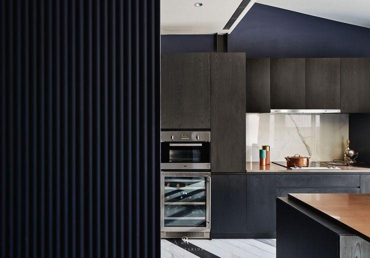 生生創研 XOR Creative Research 理絲室內設計有限公司 Ris Interior Design Co., Ltd. 系統廚具 合板 Black