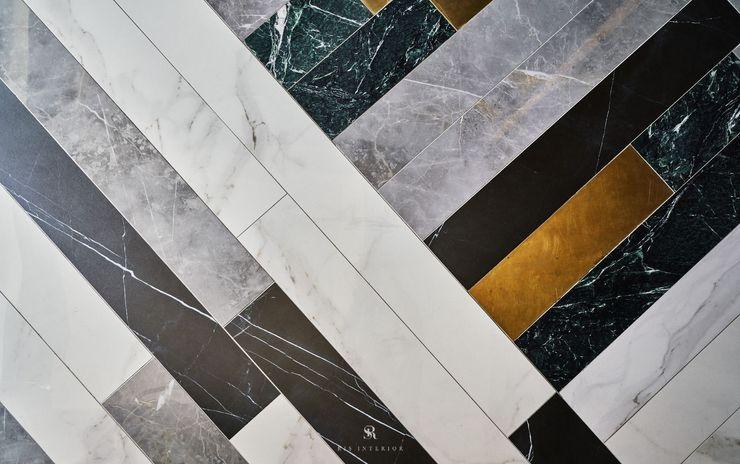 生生創研 XOR Creative Research 理絲室內設計有限公司 Ris Interior Design Co., Ltd. 地板 銅/青銅/黃銅 White