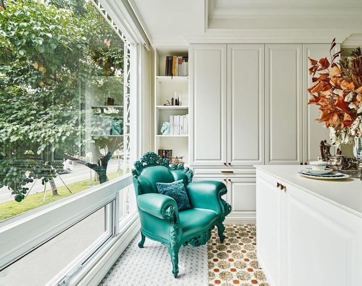 生生創研 XOR Creative Research 理絲室內設計有限公司 Ris Interior Design Co., Ltd. 辦公空間與店舖 皮革 Green