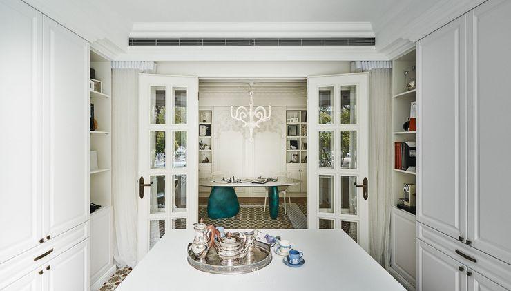 生生創研 XOR Creative Research 理絲室內設計有限公司 Ris Interior Design Co., Ltd. 辦公空間與店舖 合板 White