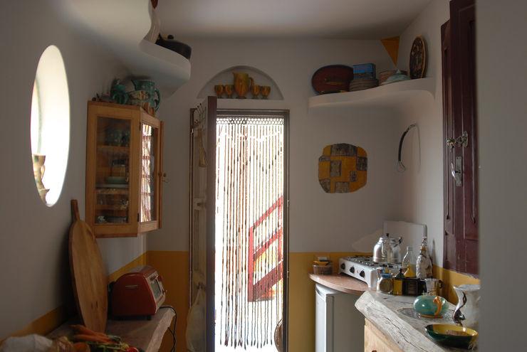 Kitchen Idea homify 廚房 White