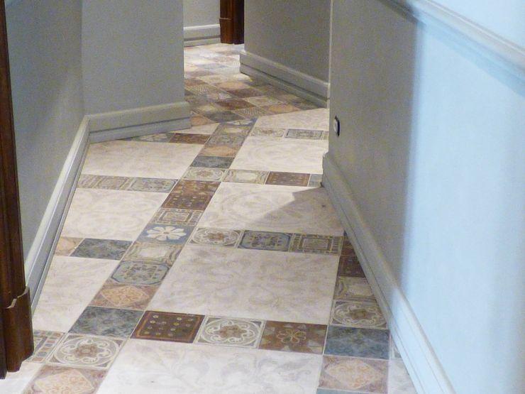 Porcelain Stoneware Floor ARTE DELL'ABITARE 玄關、走廊與階梯配件與裝飾品 Multicolored