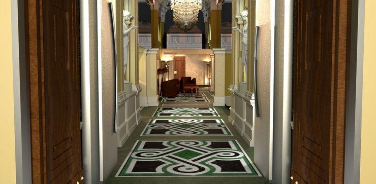 Pavimento in Marmo ARTE DELL'ABITARE Hotel in stile mediterraneo Marmo Variopinto