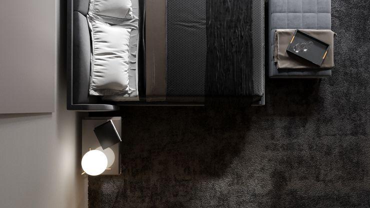 Ale design Grzegorz Grzywacz Modern living room Black
