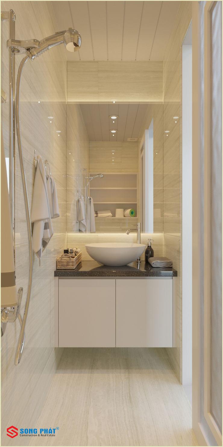 Công ty TNHH TK XD Song Phát BathroomToilets Ceramic White