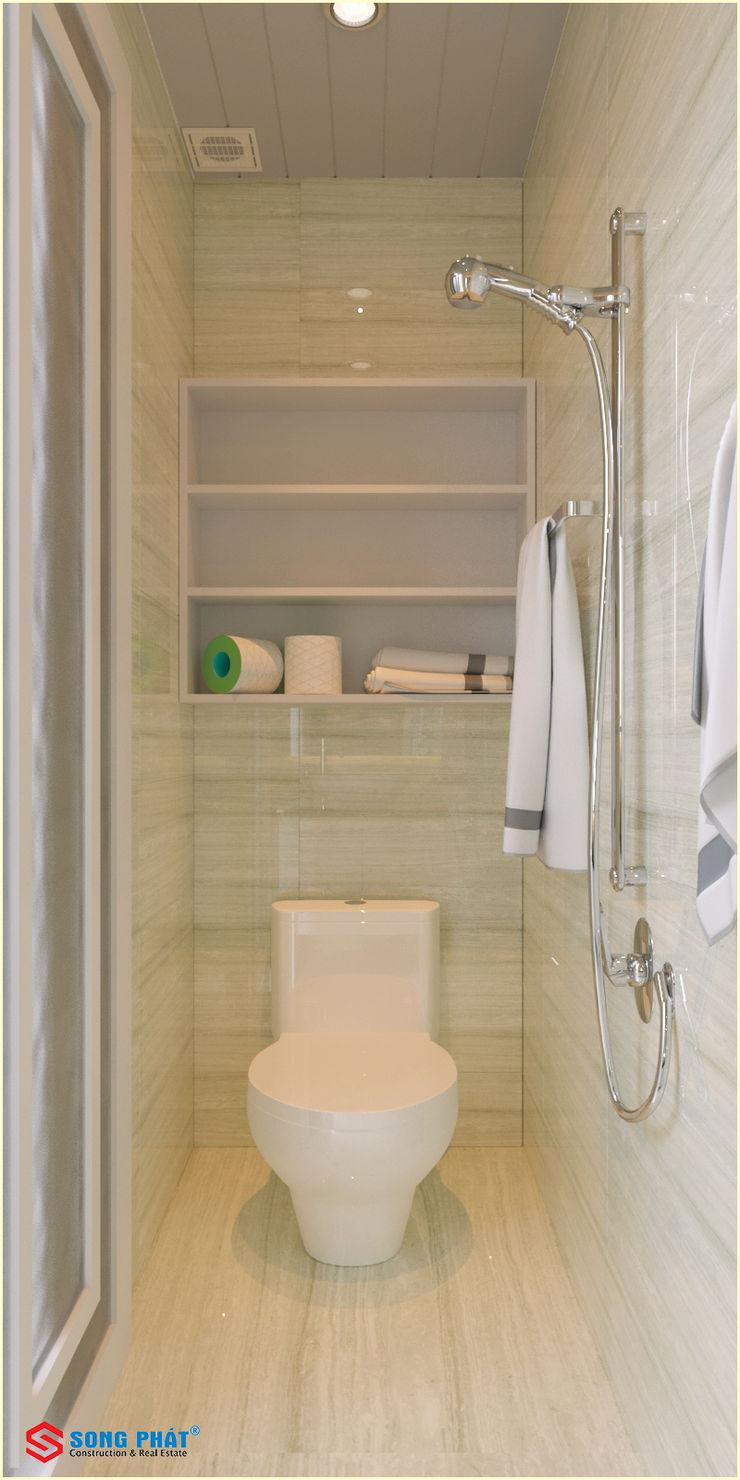 Công ty TNHH TK XD Song Phát BathroomToilets Tiles White