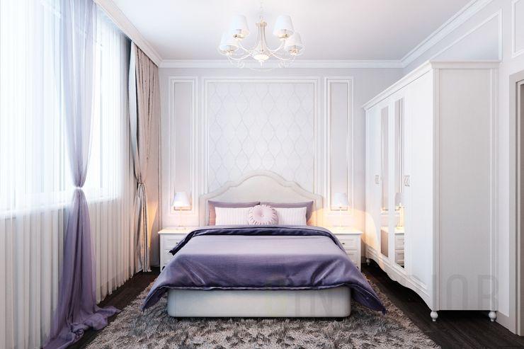 Дизайн студия 'Хороший интерьер' Klasik Yatak Odası