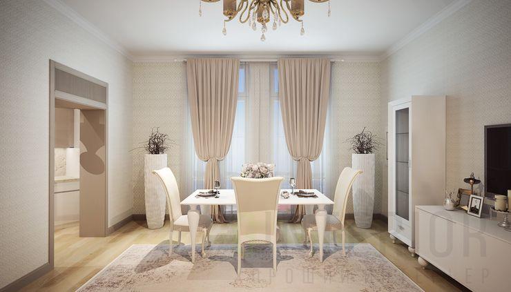Дизайн студия 'Хороший интерьер' غرفة المعيشة
