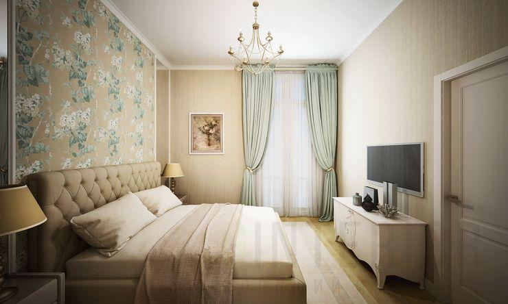 Дизайн студия 'Хороший интерьер' غرفة نوم
