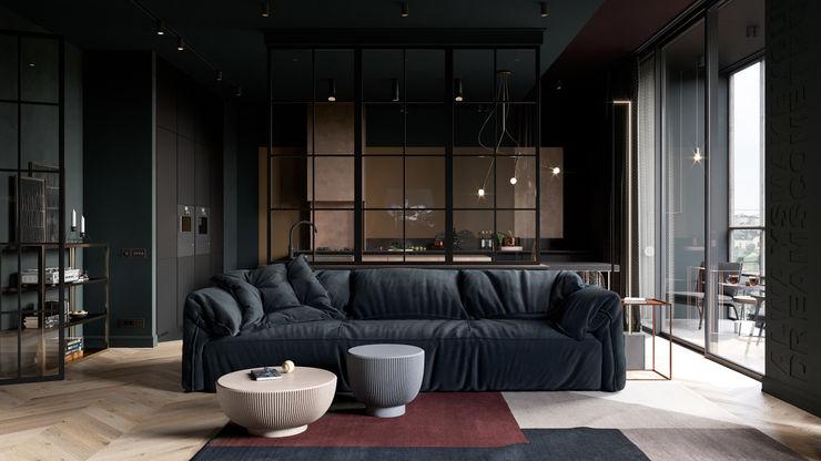Copper Field Cartelle Design Гостиные в эклектичном стиле