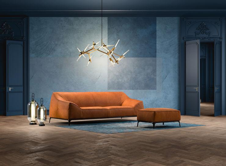 Delta Salotti Modern Living Room Blue