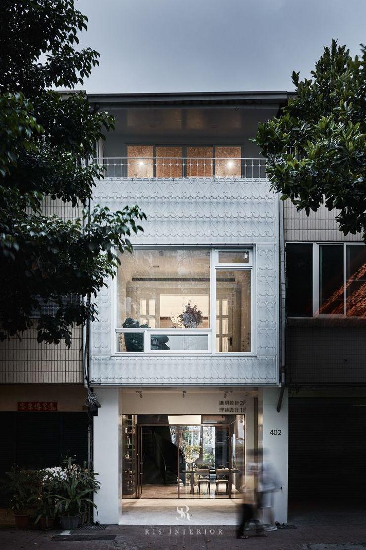 生生創研 XOR Creative Research 理絲室內設計有限公司 Ris Interior Design Co., Ltd. 排屋 金屬 White