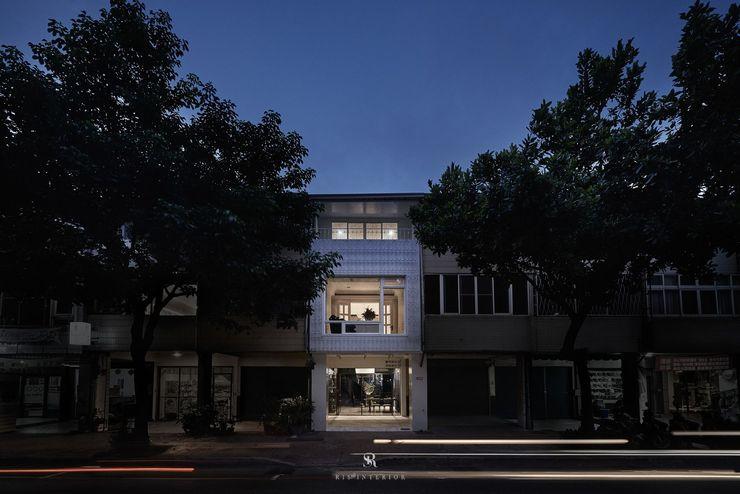 理絲室內設計 Ris Interior Design Workspace 理絲室內設計有限公司 Ris Interior Design Co., Ltd. 排屋 鐵/鋼 White