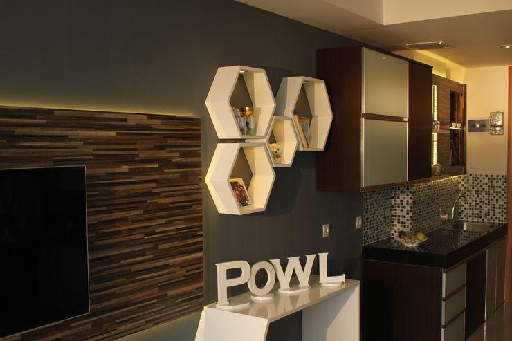 POWL Studio Salas de estilo ecléctico