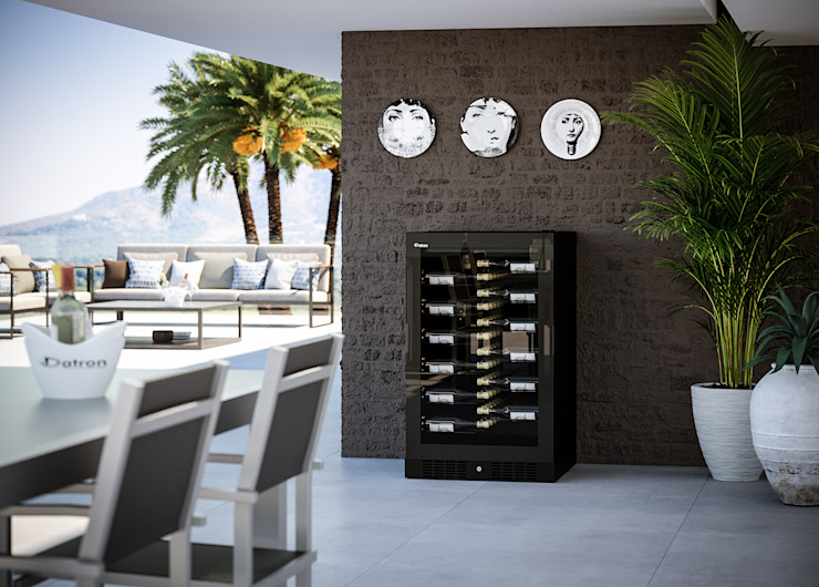 Cantinetta Vino 40 Bottiglie - Linea Luxury Datron   Cantinette vino Cantina moderna