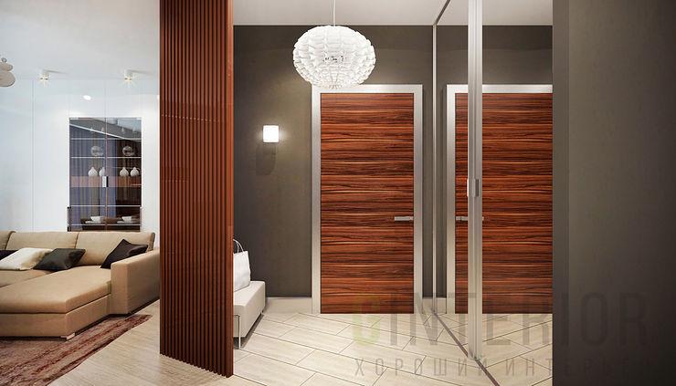 Дизайн студия 'Хороший интерьер' Modern Koridor, Hol & Merdivenler