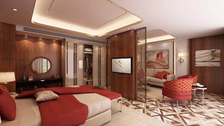 Quarto - hotel 5 estrelas Alpha Details Quartos modernos