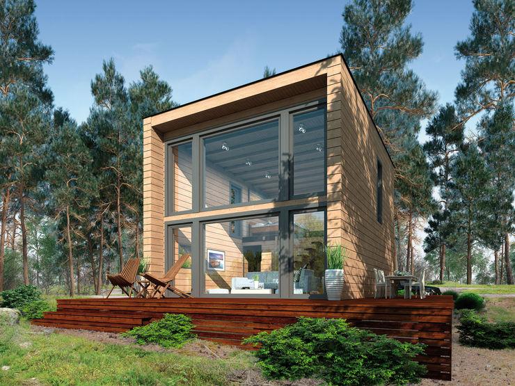 Thule Blockhaus - KUBU THULE Blockhaus GmbH - Ihr Fertigbausatz für ein Holzhaus Holzhaus