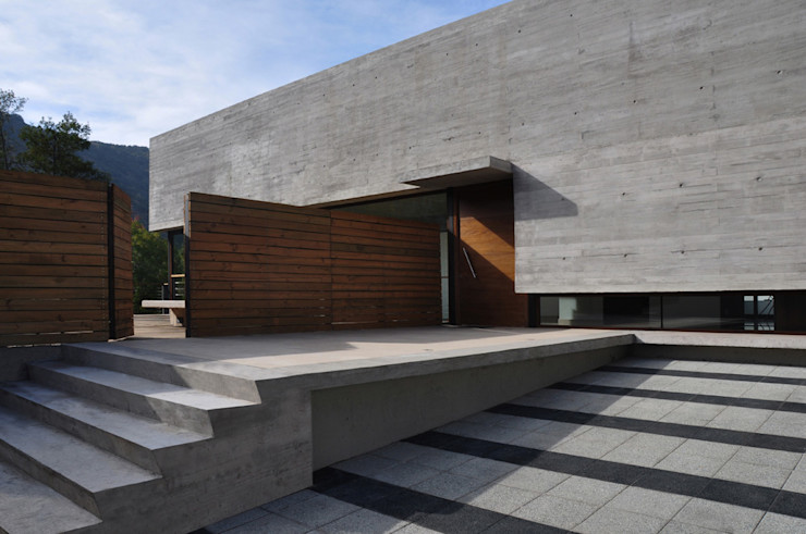 Vivienda Pineda Patricio Oteiza Casas estilo moderno: ideas, arquitectura e imágenes