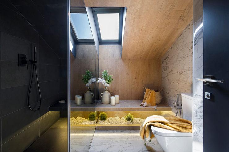 La Casa por el Tejado Egue y Seta Baños de estilo moderno