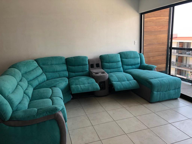 Fabrica y comercializadora de muebles en el Estado de México / Salas, Sofas, Comedores, Sillones ALVETA DESIGN SalasSalas y sillones Textil Azul