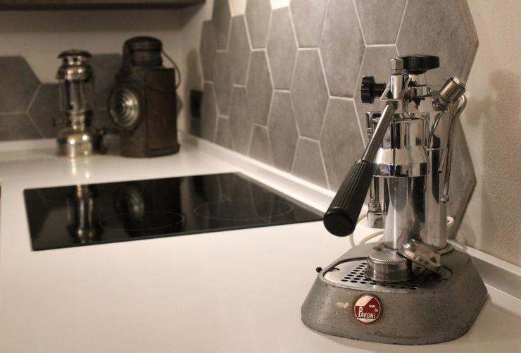 Piano induzione viemme61 Cucina attrezzata Cemento