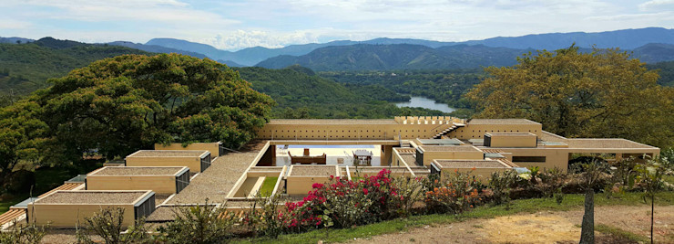 Casa Los Samanes Carlos Campuzano y Asociados Arquitectos Casas campestres