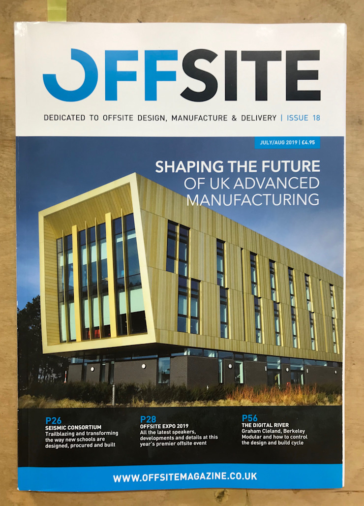 Offsite Publication Building With Frames Wooden houses Wood