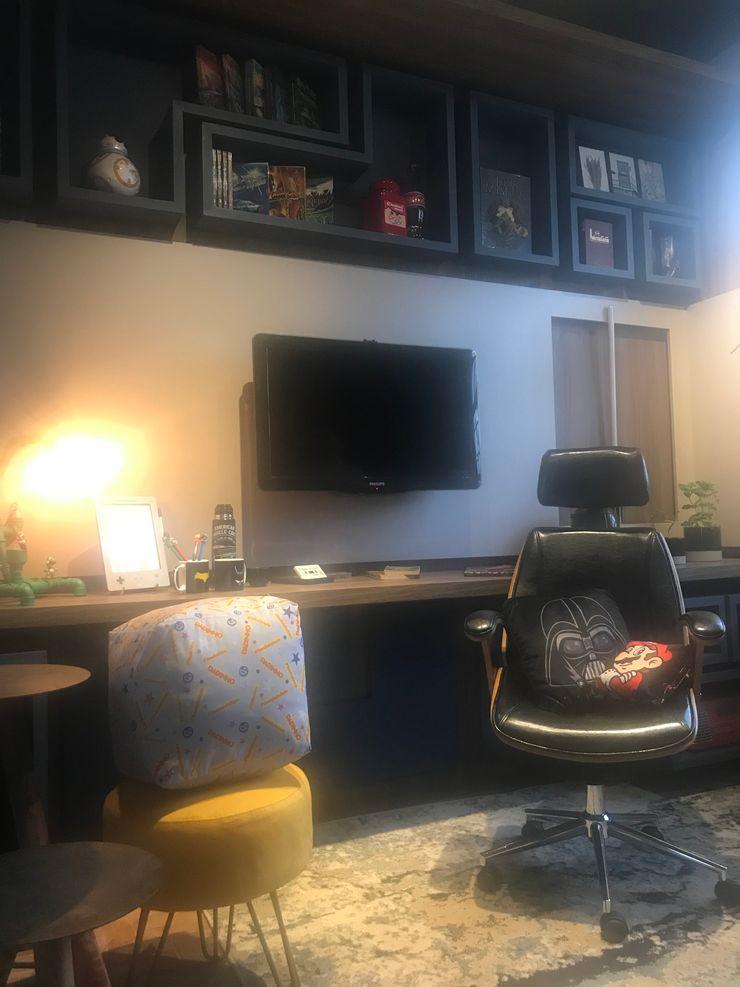 Izabella Biancardine Interiores Multimedia roomFurniture