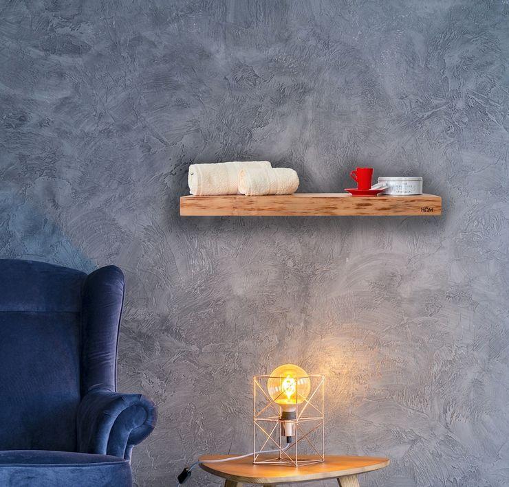 Beheizbares Regalbrett aus Zedernholz RF Design GmbH Ausgefallene Badezimmer