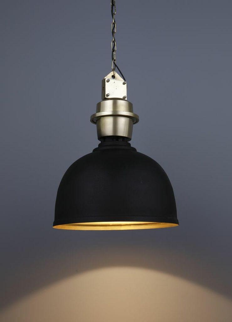 Black Pendant Light Adhvik Decor HouseholdAccessories & decoration Iron/Steel Black