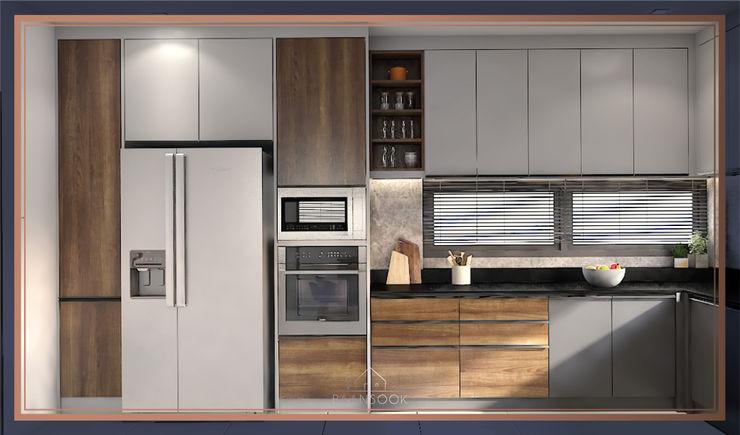 บ้านสร้างเอง โซนพุทธบูชา BAANSOOK Design & Living Co., Ltd. ตกแต่งภายใน