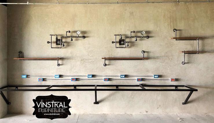 Vinstral Furniture Office spaces & stores Metal Metallic/Silver