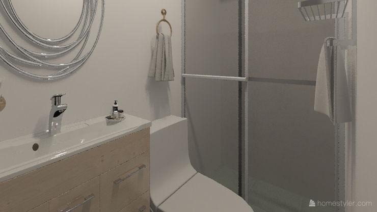 Diseño y decoración de interiores Pereira Arkiline Arquitectura Optativa Baños de estilo moderno